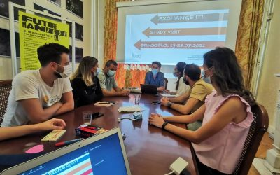 """Study visit to Brussels within the project """"Exchange it!"""""""