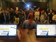 """Radionice za srednjoškolce u okviru projekta """"Evropa priča"""""""