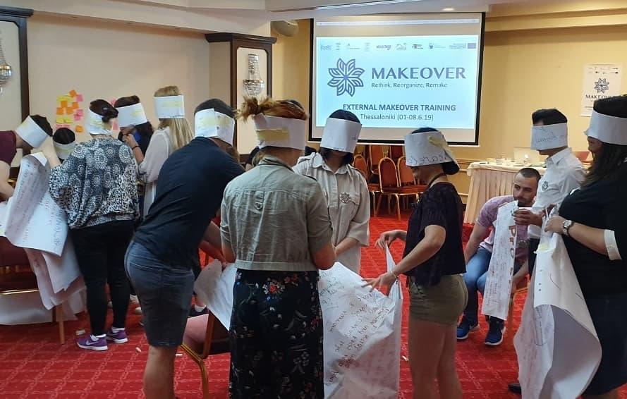 Eksterni MakeOver trening održan u Solunu