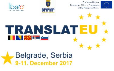 POZIV ZA UČESNIKE – PREVEDI EU (10.12.2017.)