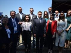 Libero na sastanku sa predsednikom Francuske Emanuelom Makronom