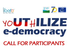 yoUThILIZE e-democracy (Vršac, 8-14.4.2019) – Call for Participants