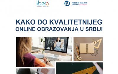 "Objavljen je priručnik ""Kako do kvalitetnijeg onlajn obrazovanja u Srbiji"""