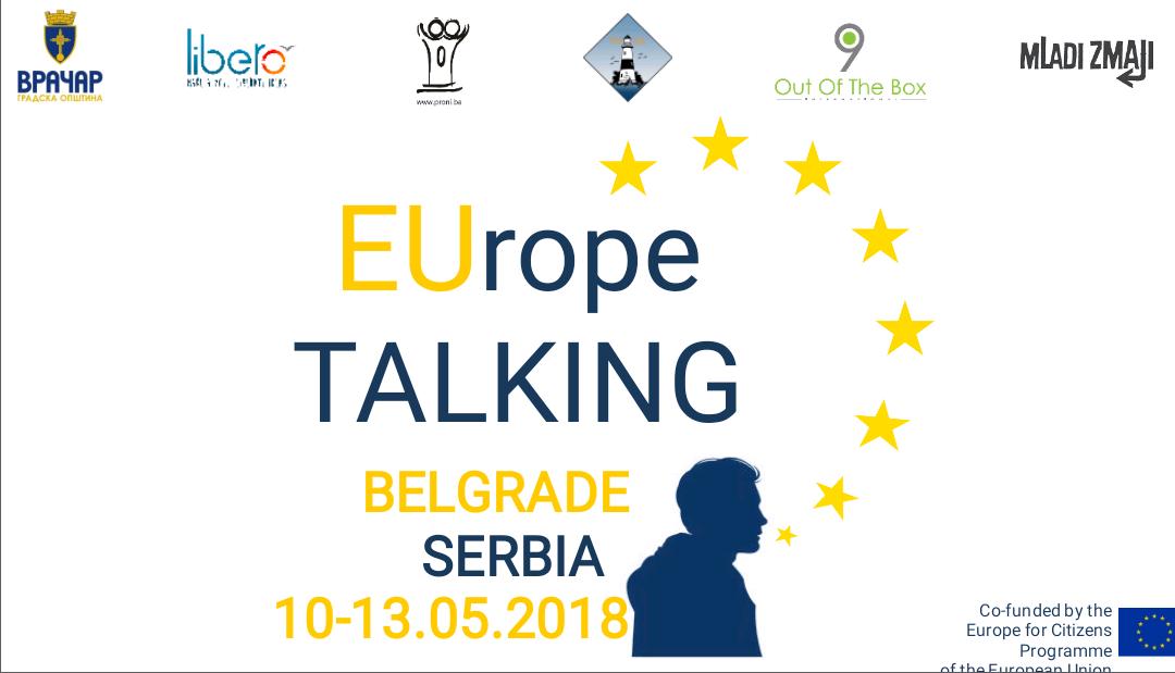 EVROPA PRIČA – Poziv za učesnike (Beograd, 10-13.5.2018)