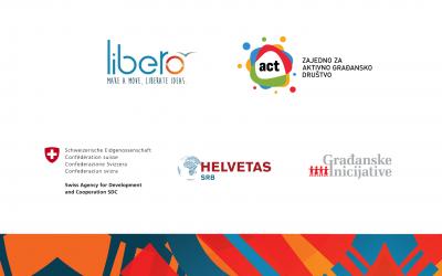 UG Libero dobitnik ACT institucionalne podrške – Zajedno za aktivno građansko društvo u Srbiji