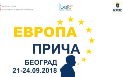 Evropa priča, trening za vršnjačke edukatore/ke (Poziv za učesnike)