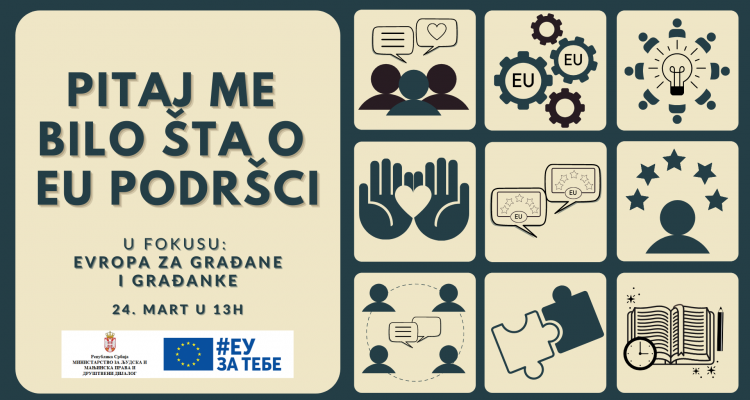 """Libero took part at the workshop """"Ask me anything about EU support – Europe for Citizens"""""""