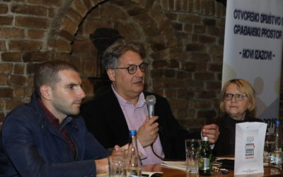 President of Libero speaks at the conference on the civil society in Serbia