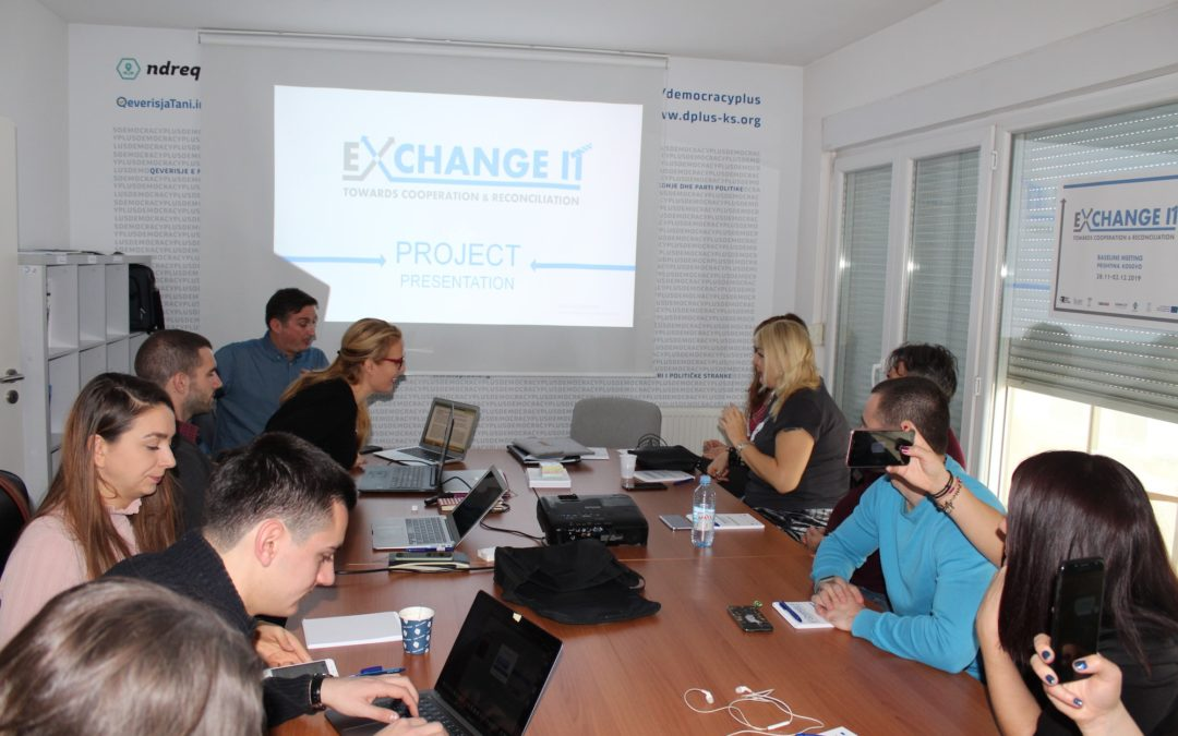 "Start of the project ""ExchangeIt – towards cooperation and reconciliation"""