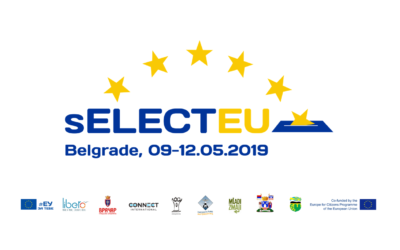 """Announcement of """"Select EU"""" events at the Vračar municipality"""