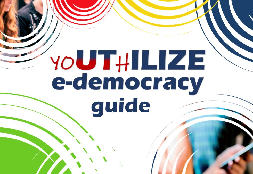 """Vodič """"yoUThILIZE E-democracy"""" je od sada dostupan onlajn!"""