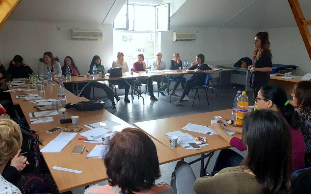 Obuka za zaposlene u Centru za socijalni rad Novi Sad