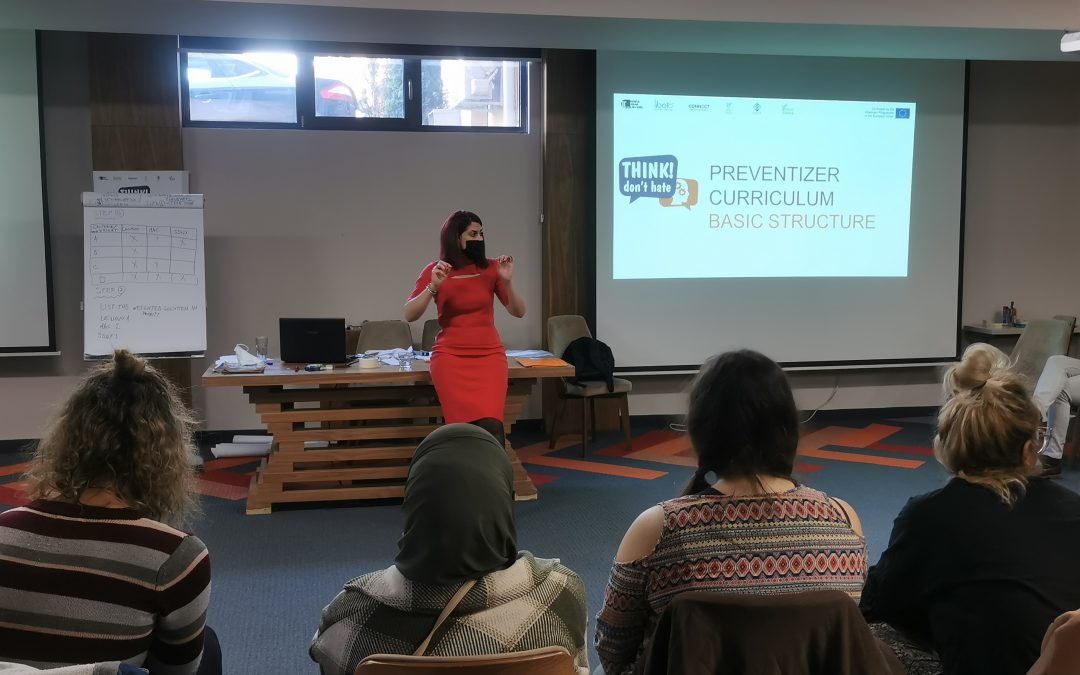 """Training for Preventizers  – """"Think! – Don't Hate – Preventing and Countering Hate Speech"""""""